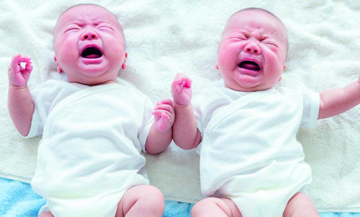 Oh oh: baby's beginnen al met huilen ín de baarmoeder!