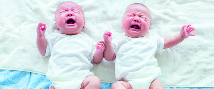 100%NL Magazine huilende baby