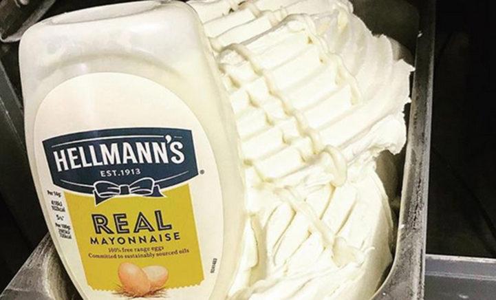 Mayonaise-fans opgelet: deze ijssalon verkoopt mayonaise ijs!