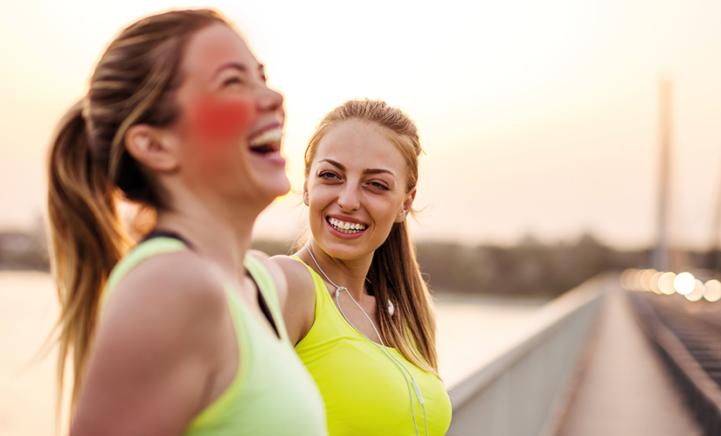 Is jouw hoofd vuurrood na het sporten? Dan ben je gezond!