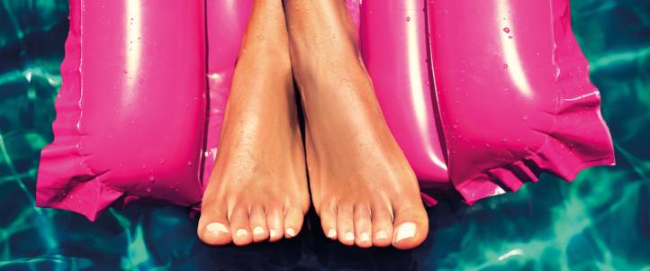100%NL Magazine voeten zomer