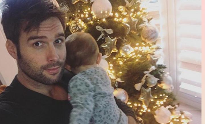 Nadat Nick deze schattige foto nam ging het mis met de kerstboom…