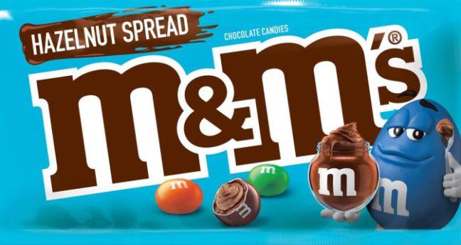 OMG: M&M's komt nu met een Nutella vulling!