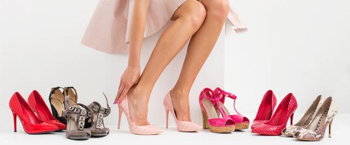 Zóveel paar schoenen heeft de gemiddelde vrouw!