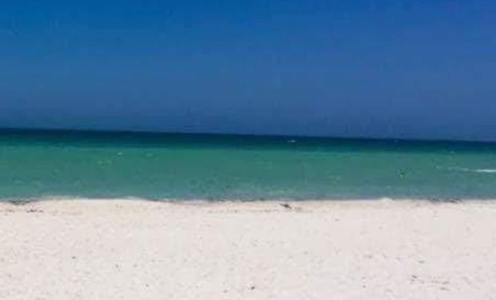 Wat zie jij: een foto van een deur of van een strand?