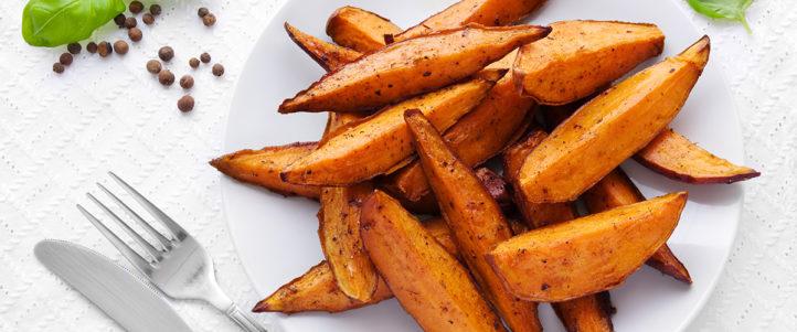 Zo gezond zijn zoete aardappelen!