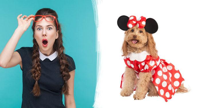 JA! Disney heeft nu te schattige kostuums voor je hond!