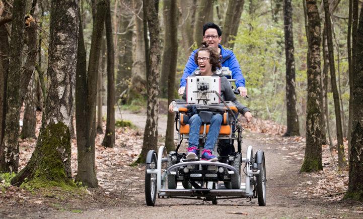 STEM NU en help Stichting Bio aan een speciale rolstoelfiets voor kinderen