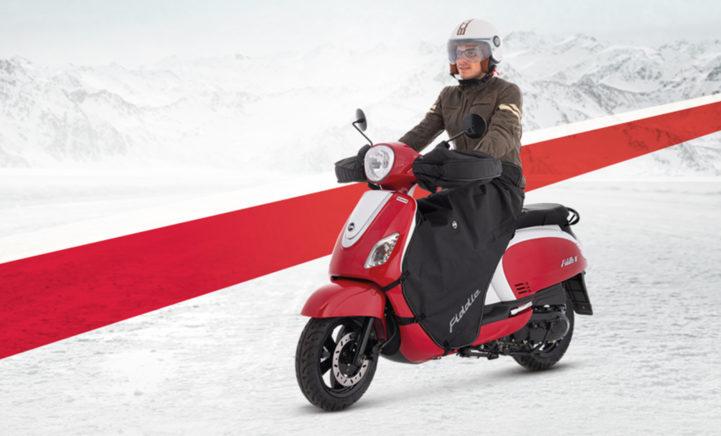 Zó voorkom je dat je deze winter zit te bibberen op je scooter!