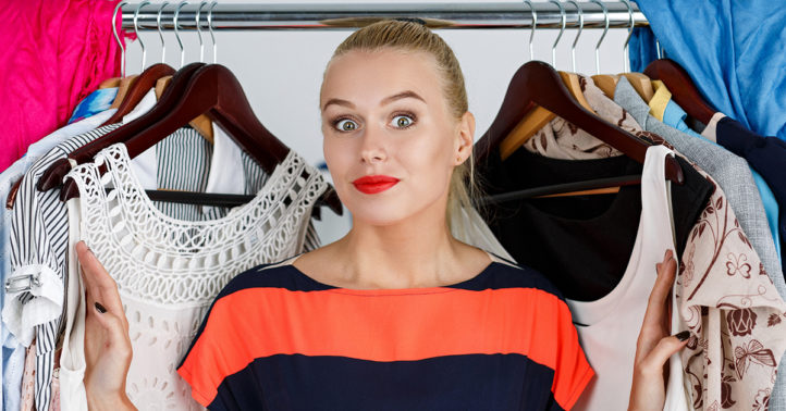 Onderzoek: zoveel kleren hangen er in jouw kast!