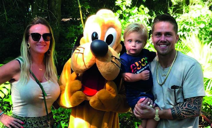 Foto's: André en zijn gezin aan het genieten in Disney World!