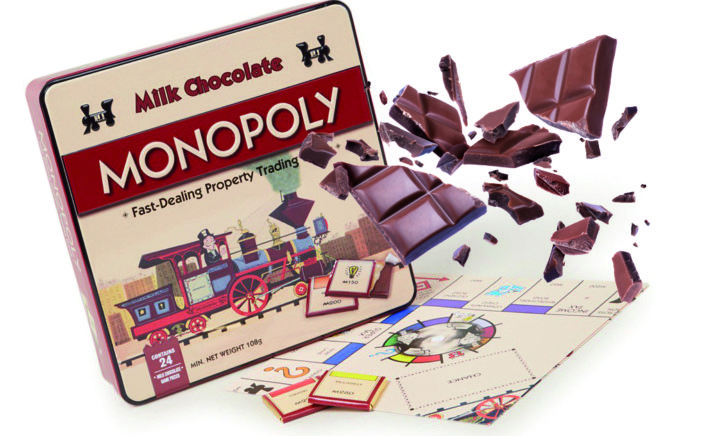 Lekker! Deze winkel verkoopt chocolade-Monopoly!