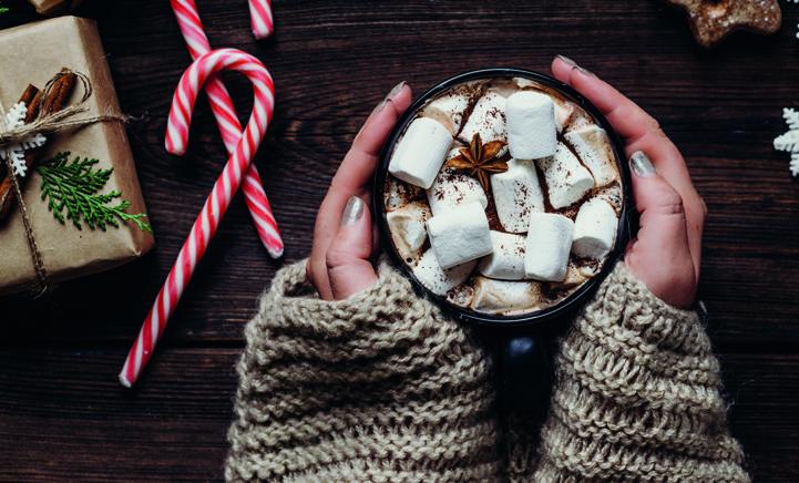 OMG: zo maak je warme chocolademelk met karamel-zeezout!