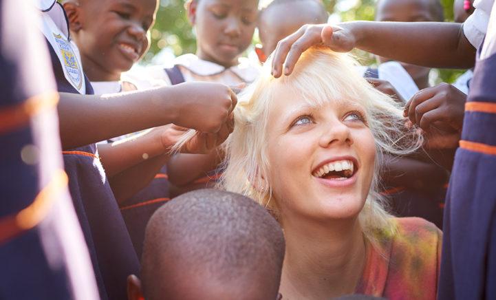 Topmodel Marjan Jonkman is nieuwe ambassadrice voor SOS Kinderdorpen!