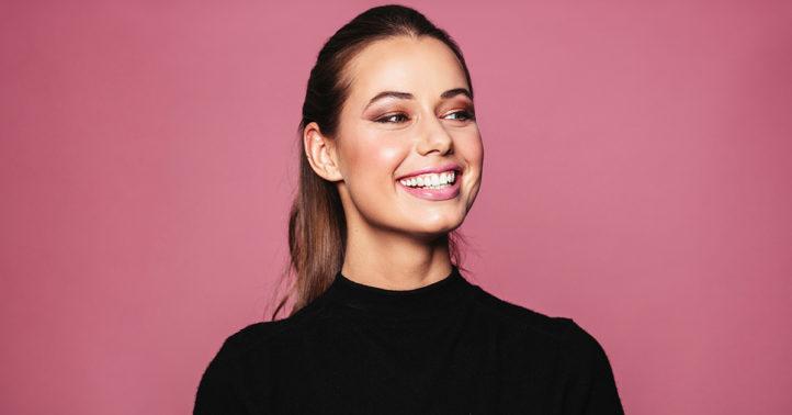 100%NL Magazine lachende vrouw