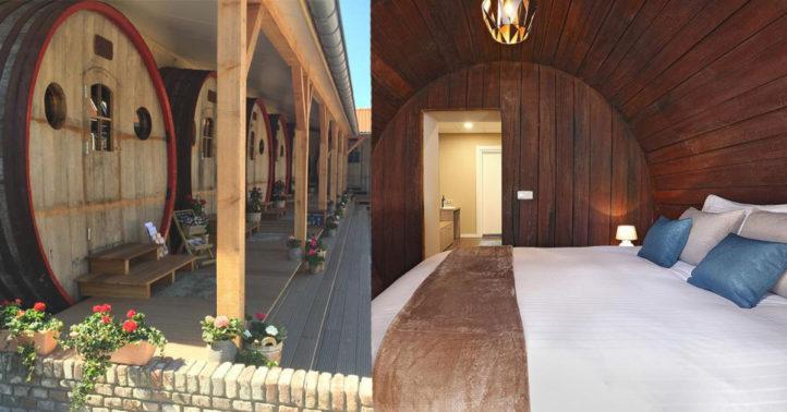 100%NL Magazine wijnvat hotel