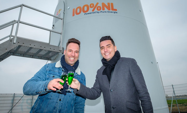 Jan Smit en Barry Paf onthullen de 100% NL windmolen!