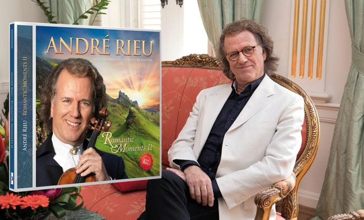 Win: André Rieu's nieuwe album 'Romantic Moments II'