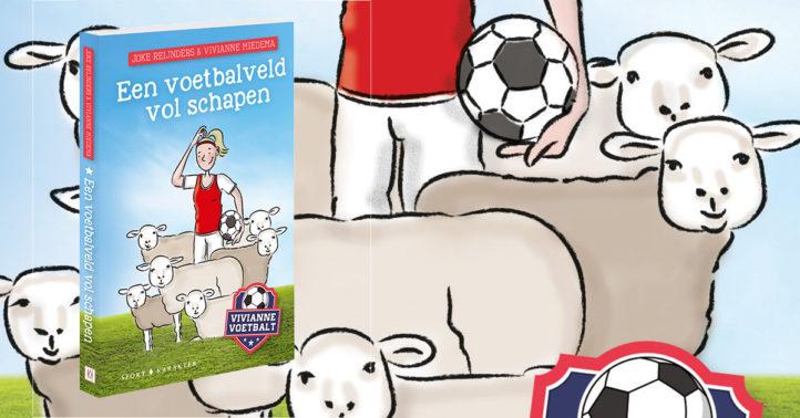 Win het boek Vivianne voetbalt: een voetbalveld vol schapen!