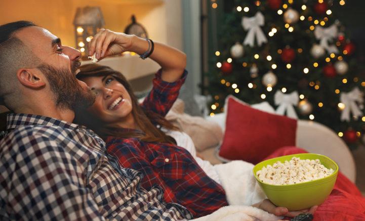 Goed nieuws: kerstfilms kijken is goed voor je!