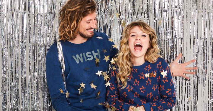 100%NL Magazine Jeans Centre kersttrui