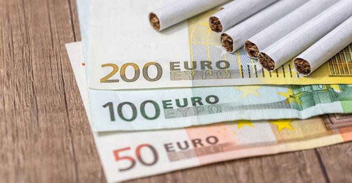 100%NL Magazine sigaretten geld