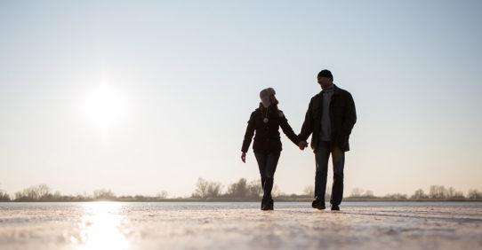 100%NL Magazine winter wandeling