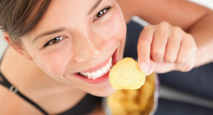 100%NL Magazine zak chips eten