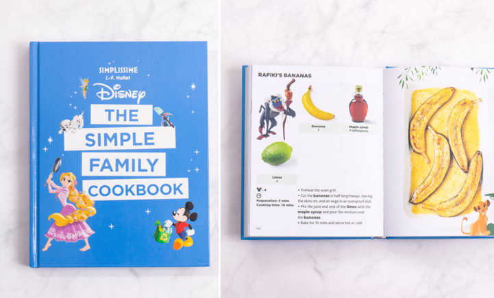 Er bestaat nu een Disneykookboek en die wil je sowieso hebben!