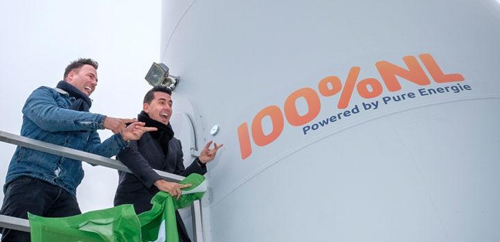 Meld je aan bij de enige echte Radio 100% NL windmolen!
