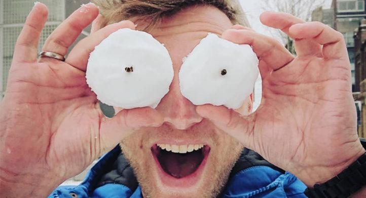 100%NL Magazine sneeuwpret