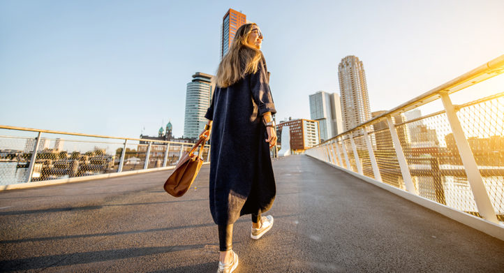100%NL Magazine stad vrouw