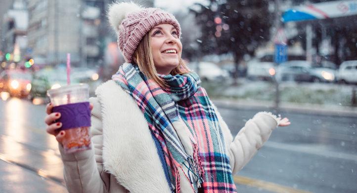 Sjalen om: vanaf morgen kans op sneeuw!