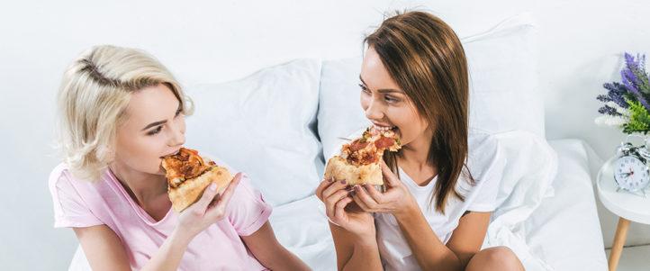 ECHT WAAR: Pizza is een beter ontbijt dan een kom cornflakes!