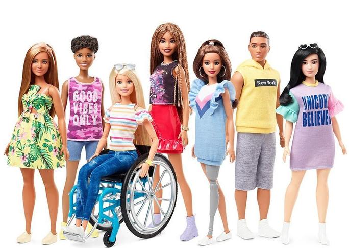 100%NL Magazine barbie in rolstoel