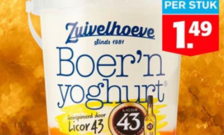 PROEVEN: Boer'n yoghurt® geïnspireerd door Licor 43!
