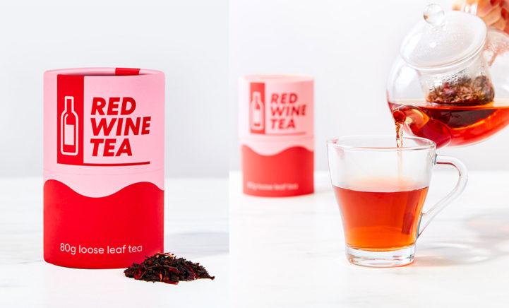 Move over 'gewone' wijn! Er bestaat nu namelijk rode wijn thee!