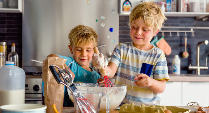 100%NL Magazine kinderen koken