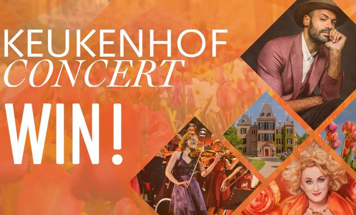 (gesloten) WIN: 2 tickets voor het Keukenhof Concert op 24 april!
