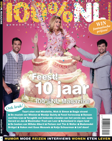 100%NL Magazine cover