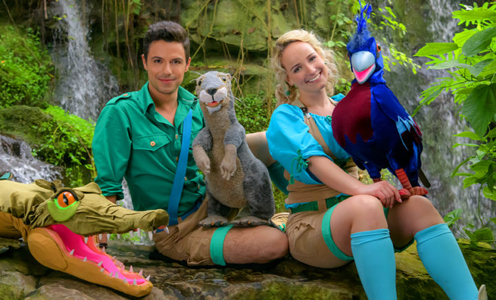 UITJE! Op avontuur in de jungle met Zoë & Silos in Burgers' Zoo!