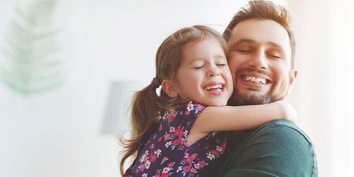 BEWEZEN: ouders met dochters zijn knap!