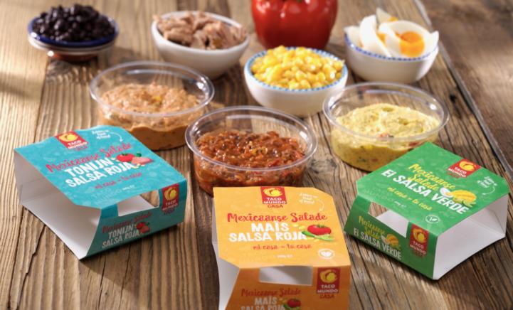 Hier word je blij van! Taco Mundo introduceert nu: Mexicaanse Salades!