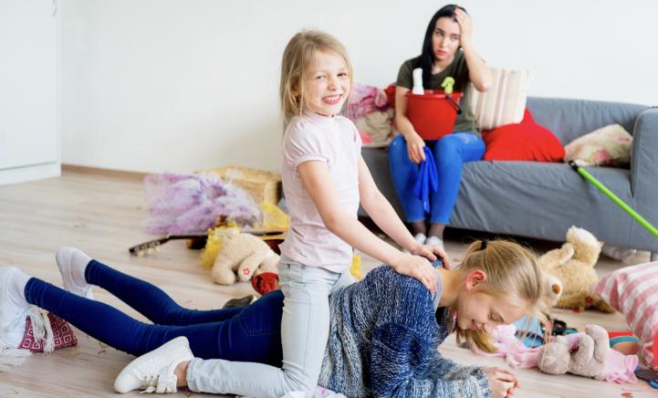 BEWEZEN: van je kinderen krijg je grijze haren!