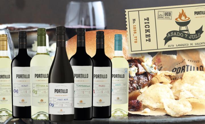 Portillo wijnen, jonge en fruitige wijnen!