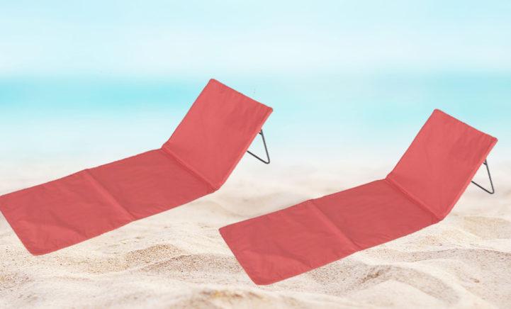 DIT WIL JE! Action verkoopt strandmat mét rugleuning voor een prikkie