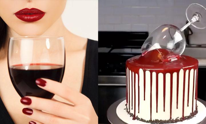 Feestje dit weekend? Maak een wijntaart!