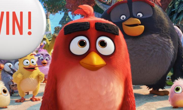 WIN: Bioscoopkaartjes voor de film Angry Birds 2!