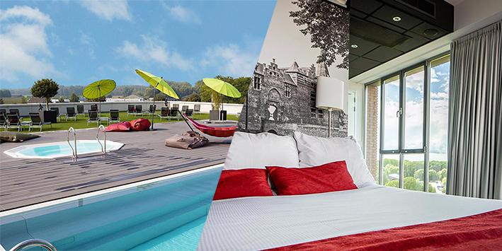 Een bezoekje waard: bijkomen in een super luxe Wellness-Hotel!