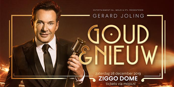 LEUK! Vier 'Goud & Nieuw' met Gerard Joling in de Ziggo Dome!